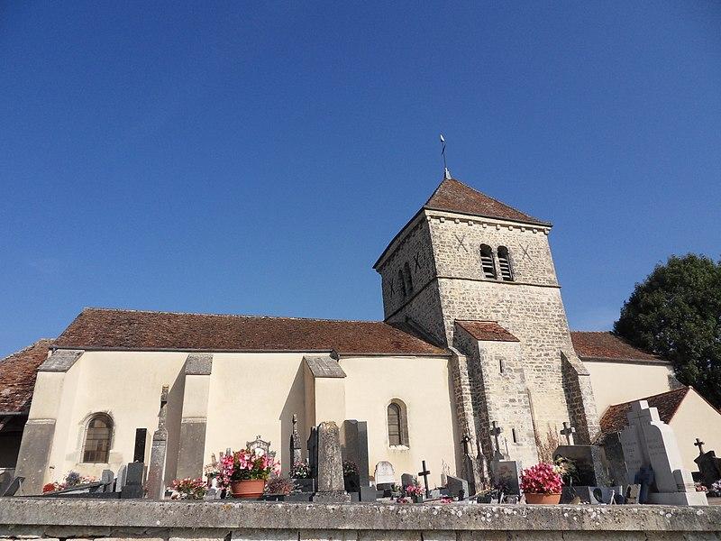 Photo du Monument Historique Eglise Saint-Léger situé à Oisilly