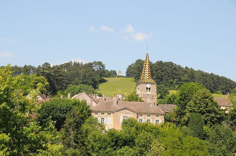 Photo du Monument Historique Maison de Jacques Copeau et son jardin situé à Pernand-Vergelesses
