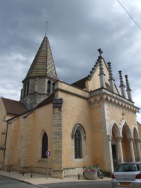 Photo du Monument Historique Eglise situé à Plombières-lès-Dijon