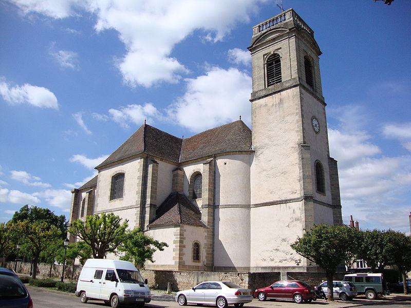 Photo du Monument Historique Eglise situé à Pommard