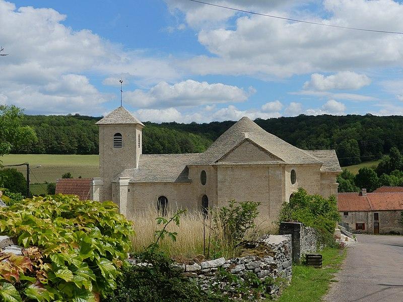 Photo du Monument Historique Eglise Saint-Barthélémy situé à Poncey-sur-l'Ignon