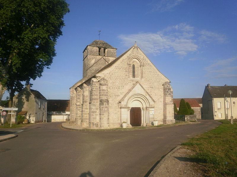 Photo du Monument Historique Eglise de Prissey situé à Premeaux-Prissey