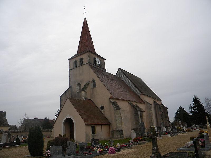 Photo du Monument Historique Eglise de l'Assomption situé à Sainte-Marie-la-Blanche