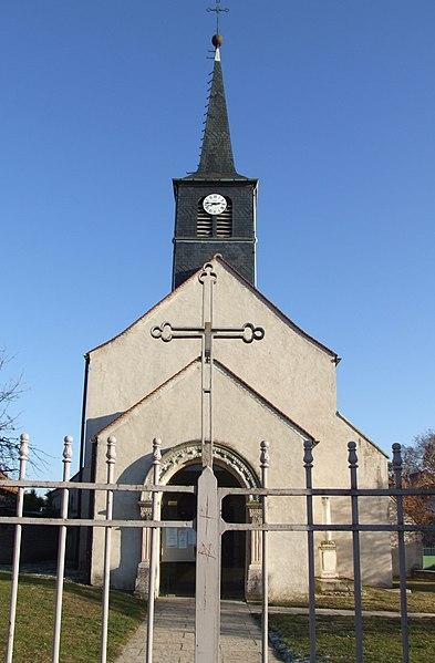 Photo du Monument Historique Eglise situé à Saint-Apollinaire