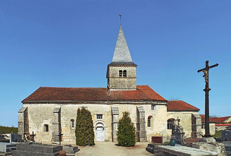 Photo du Monument Historique Eglise situé à Saint-Germain-le-Rocheux