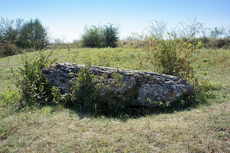 Photo du Monument Historique Dolmen dit La Pierre qui vire situé à Rochepot (La)