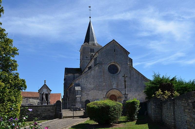 Photo du Monument Historique Eglise situé à Saint-Maurice-sur-Vingeanne