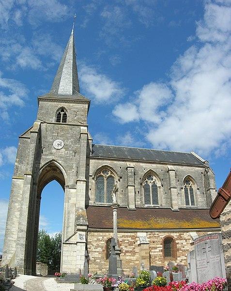 Photo du Monument Historique Eglise situé à Sainte-Sabine