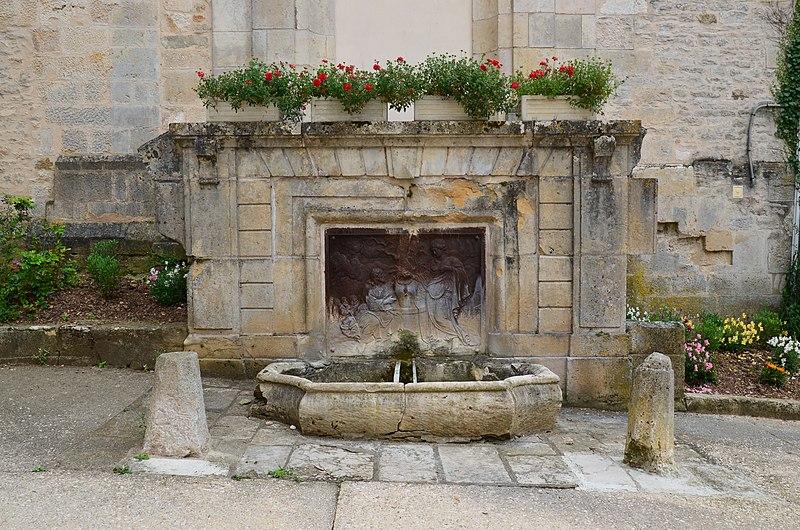 Photo du Monument Historique Fontaine dite de la Samaritaine situé à Saint-Seine-l'Abbaye