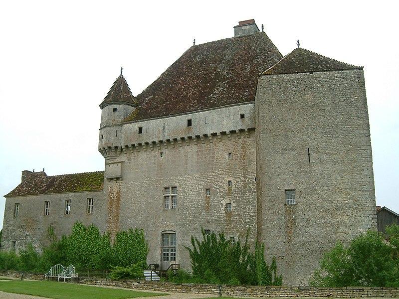 Photo du Monument Historique Château de Rosières situé à Saint-Seine-sur-Vingeanne