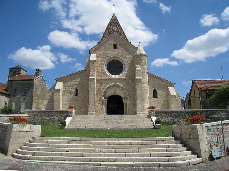 Photo du Monument Historique Eglise Saint-Seine situé à Saint-Seine-sur-Vingeanne