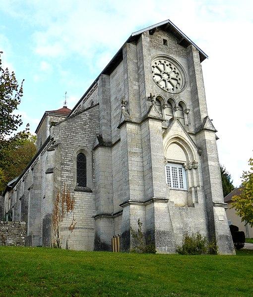 Photo du Monument Historique Eglise Notre-Dame situé à Salmaise
