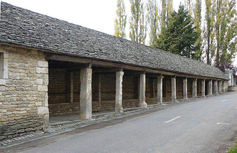 Photo du Monument Historique Halle situé à Salmaise