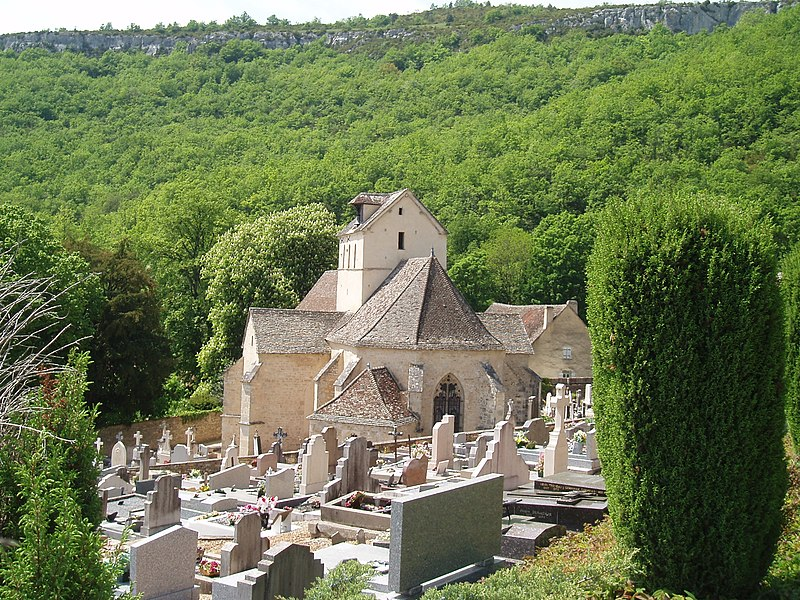 Photo du Monument Historique Eglise du hameau de Saint-Jean situé à Santenay