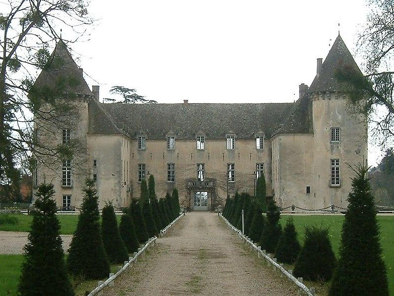 Photo du Monument Historique Château et petit château situé à Savigny-lès-Beaune