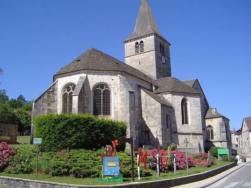 Photo du Monument Historique Eglise situé à Selongey