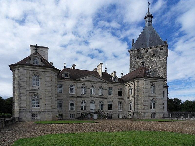 Photo du Monument Historique Château de Talmay situé à Talmay