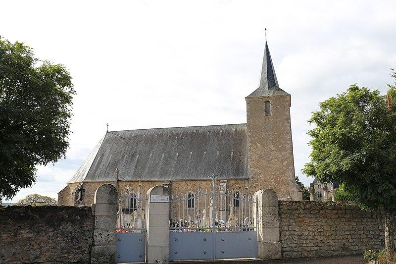 Photo du Monument Historique Eglise situé à Thoisy-la-Berchère