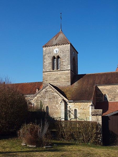 Photo du Monument Historique Eglise situé à Vandenesse-en-Auxois