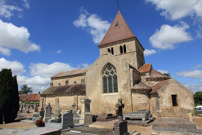 Photo du Monument Historique Eglise situé à Vic-de-Chassenay