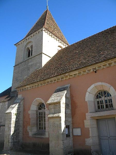 Photo du Monument Historique Eglise situé à Villebichot