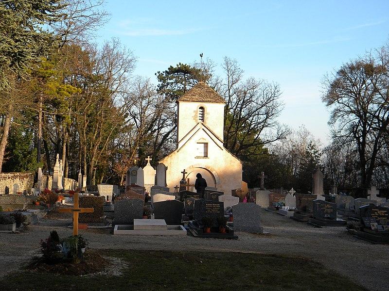 Photo du Monument Historique Eglise du cimetière  , dite aussi chapelle du Mont situé à Villers-la-Faye