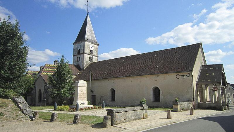 Photo du Monument Historique Eglise Saint-Jean-Baptiste situé à Villiers-le-Duc