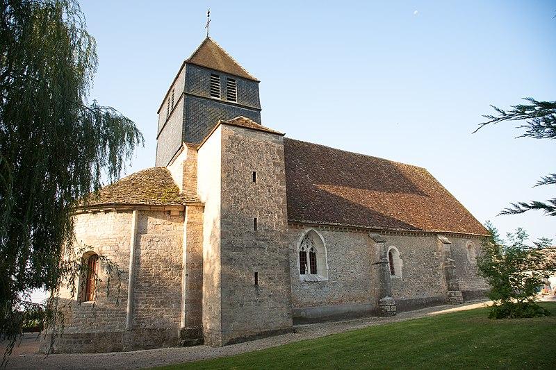 Photo du Monument Historique Eglise situé à Villy-le-Moutier