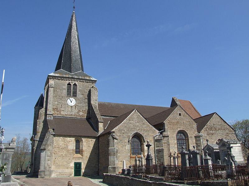 Photo du Monument Historique Eglise Saint-Germain d'Auxerre situé à Vitteaux