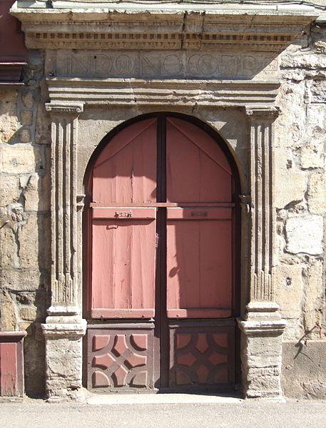 Photo du Monument Historique Immeuble situé à Vitteaux