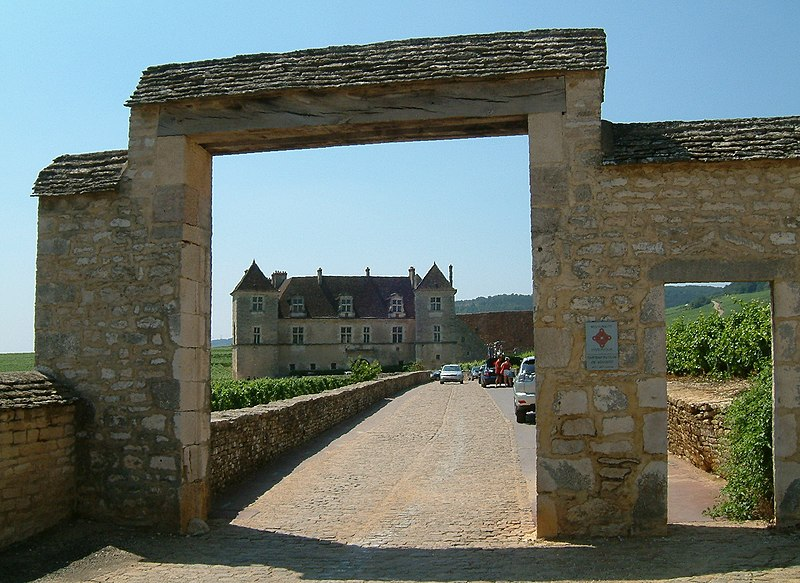 Photo du Monument Historique Château de Clos-Vougeot situé à Vougeot