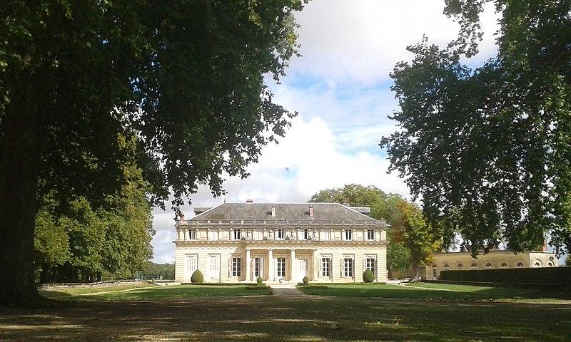 Photo du Monument Historique Château avec son jardin situé à Bressey-sur-Tille