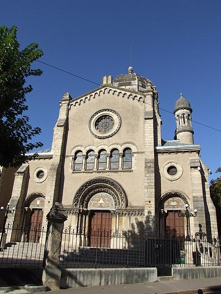 Photo du Monument Historique Synagogue situé à Dijon