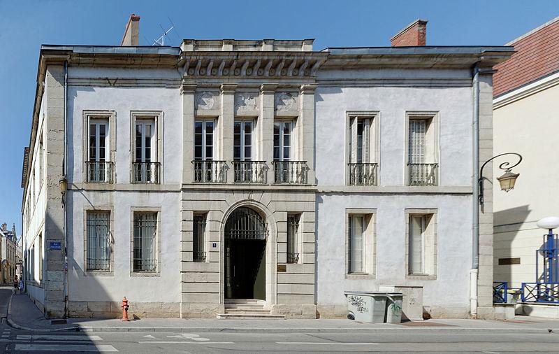 Photo du Monument Historique Hôtel Muteau situé à Dijon