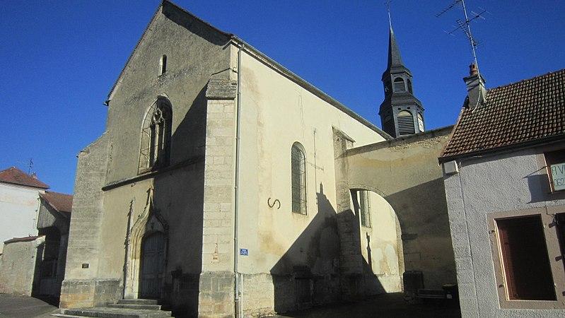 Photo du Monument Historique Eglise Saint-Jean situé à Châtillon-sur-Seine