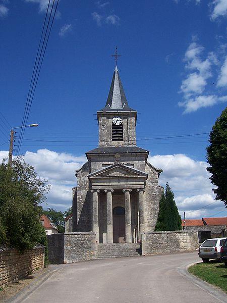 Photo du Monument Historique Eglise Saint-Léger situé à Moitron