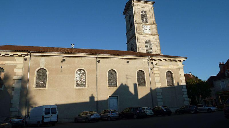 Photo du Monument Historique Eglise Saint-Maurice situé à Pontailler-sur-Saône