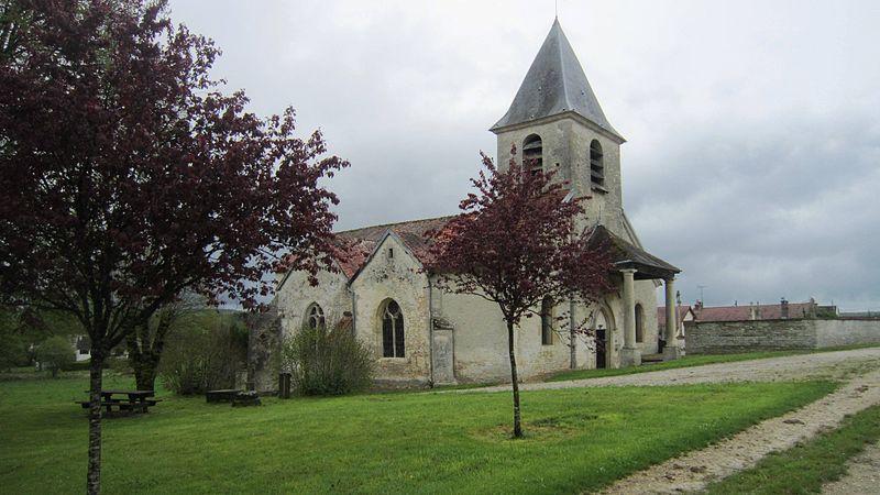 Photo du Monument Historique Eglise Saint-Antoine situé à Gomméville