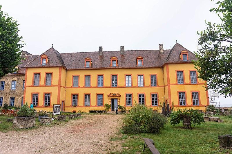 Photo du Monument Historique Château situé à Sainte-Colombe