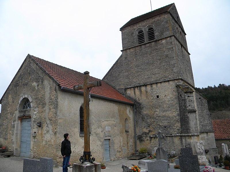 Photo du Monument Historique Eglise Saint-Benigne situé à Nantoux