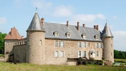 Photo du Monument Historique Château situé à Roche-en-Brenil (La)