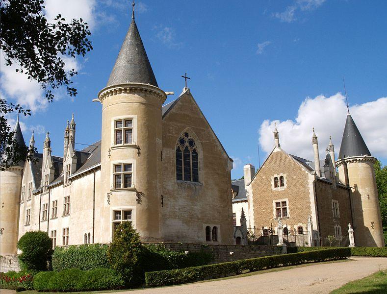 Photo du Monument Historique Château de Bourbilly situé à Vic-de-Chassenay
