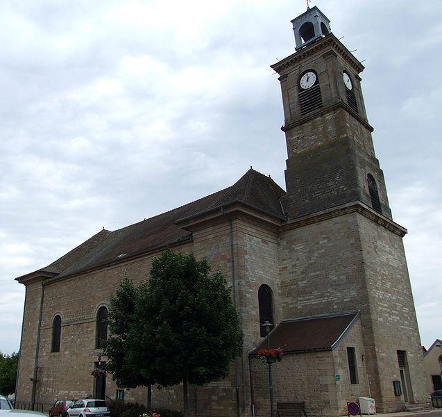 Photo du Monument Historique Eglise Notre-Dame-de-l'Assomption situé à Marsannay-la-Côte