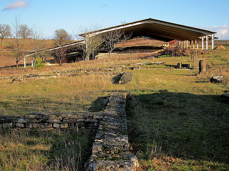 Photo du Monument Historique Agglomération gallo-romaine de Mediolanum situé à Mâlain