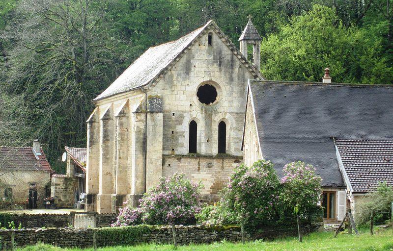 Photo du Monument Historique Ancienne chartreuse de Lugny situé à Leuglay