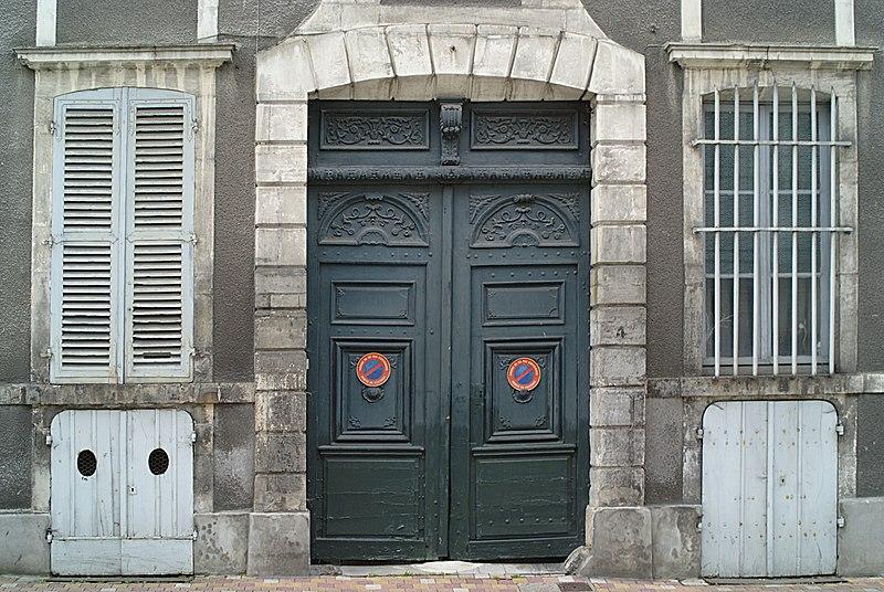 Photo du Monument Historique Hôtel Hernoux situé à Saint-Jean-de-Losne