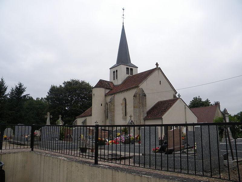 Photo du Monument Historique Eglise Saint-Clément situé à Saint-Euphrône