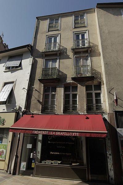 Photo du Monument Historique Charcuterie situé à Dijon