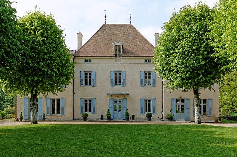 Photo du Monument Historique Domaine du château situé à Barbirey-sur-Ouche