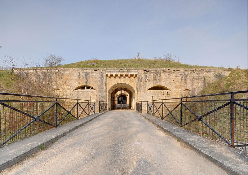 Photo du Monument Historique Fort de la Motte-Giron situé à Dijon